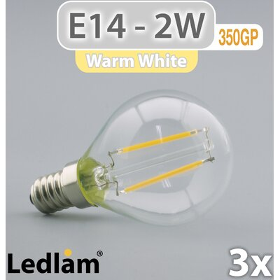 LEDlam 3-tlg. LED-Set E14