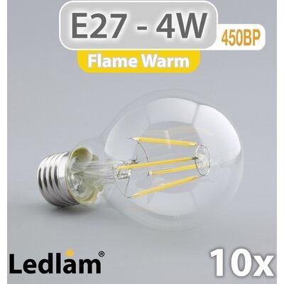 LEDlam 10-tlg. LED-Set E27 4W