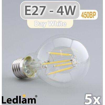 LEDlam 5-tlg. LED-Set E27 4W