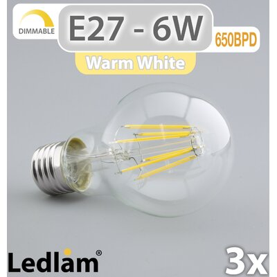LEDlam 3-tlg. LED-Set E27