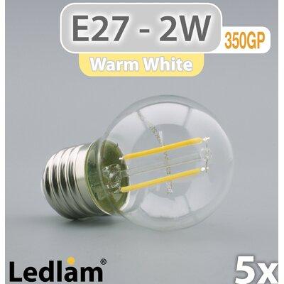 LEDlam 5-tlg. LED-Set E27