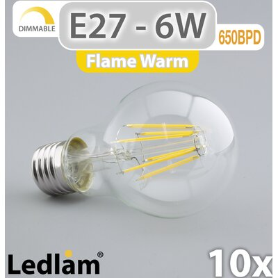 LEDlam 10-tlg. LED-Set E27