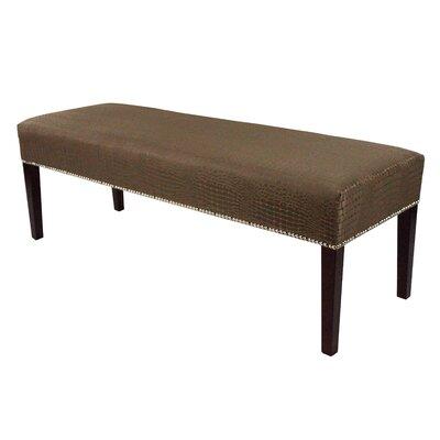 Tillie Upholstered Bench Color: Mocha