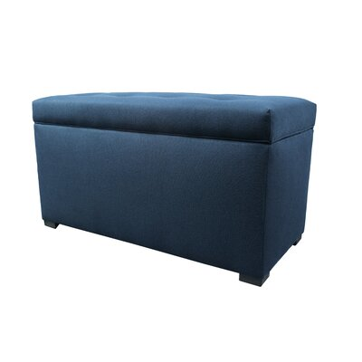Dawson 7 Wood Storage Bench Color: Eclipse
