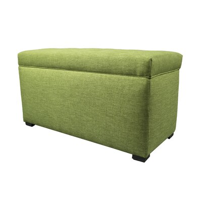 Key Largo Wood Storage Bench Color: Grass