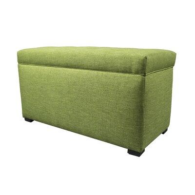 Key Largo Wood Storage Bench Color: Grass