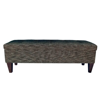 Lucky Wood Storage Bench Color: Phantom