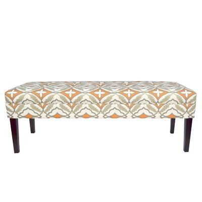 Kaya Eden Upholstered Bench Upholstery Color: Cinnamon