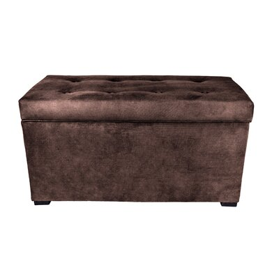 Obsession Storage Bench Color: Java