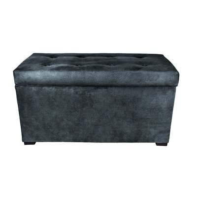 Obsession Storage Bench Color: Navy