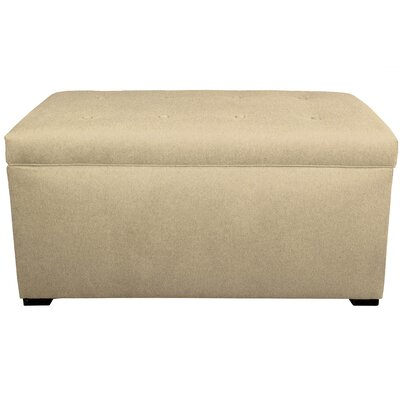 Dawson 7 Wood Storage Bench Color: Pismo
