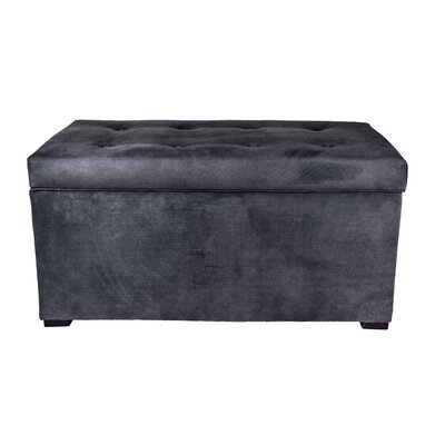 Obsession Storage Bench Color: Indigo