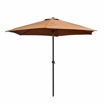 9' Market Umbrella Color: Tan