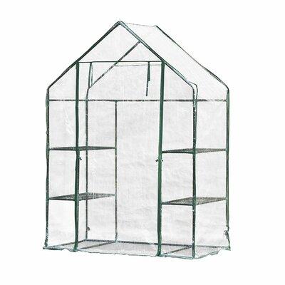 4.58 Ft. W x 2.41 Ft. D Mini Greenhouse