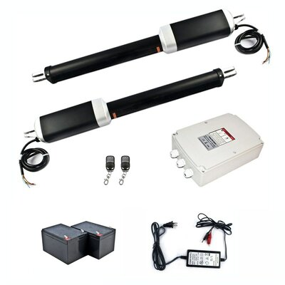 Swing Gate Operator with Back-Up Kit Gate Opener Solar Compatible
