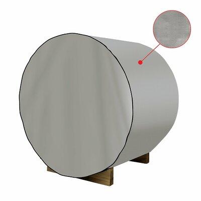 """Dust Coat Barrel Sauna Protecting Cover Size: 75"""" H x 72"""" W x 93"""" D"""