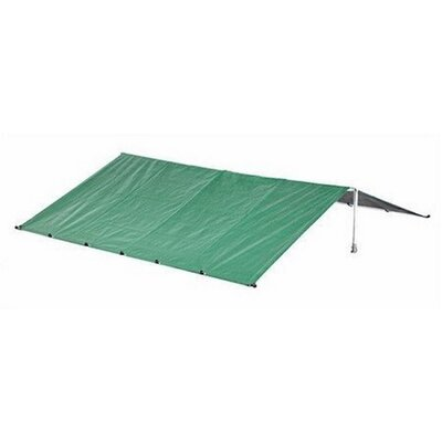 """Merritt Waterproof Dog Kennel Roof Cover with Aluminum Grommets Size: 19.6"""" H x 120"""" W x 156"""" D, Color: Green"""