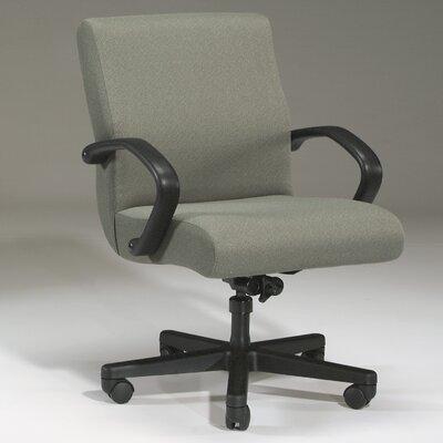 Desk Chair Upholstery Color: Currant, Frame Finish: Mahogany, Tilt Mechanism: Tilt Lock Not Included