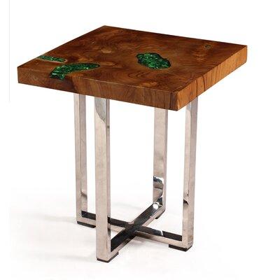 Charlesworthy Annatto Verdi End Table