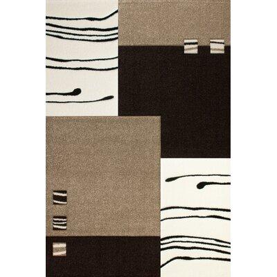 Obsession Handgearbeiteter Teppich Lifestyle in Braun