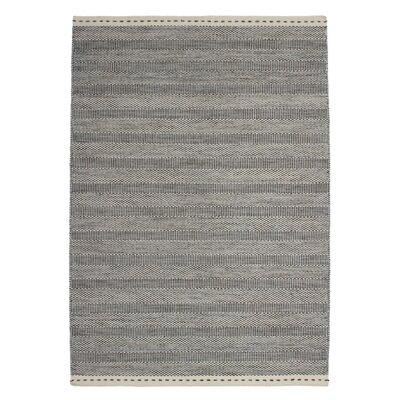 Obsession Handgefertigter Teppich Bombay in Grau