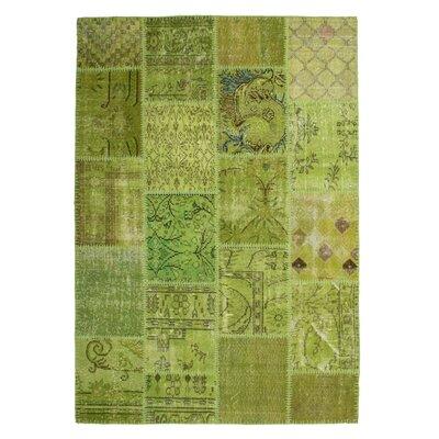 Obsession Handgefertigter Teppich Atlas in Grün