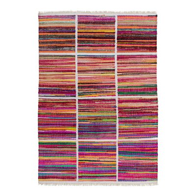 Obsession Handgefertigter Teppich Babylon in Regenbogen