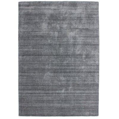 Obsession Handgefertigter Teppich Lana in Silber