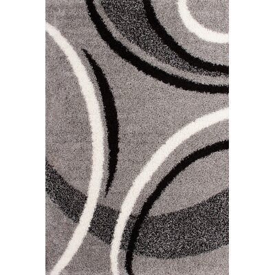 Lalee Germany Cologne Grey, Black and White Area Rug