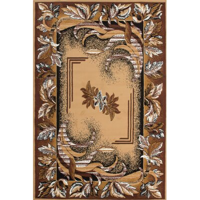 Lalee Isfahan Sahara Brown Area Rug