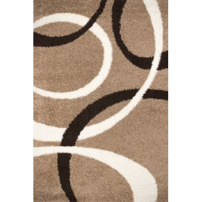 Lalee Germany Dresden Brown and Beige Area Rug