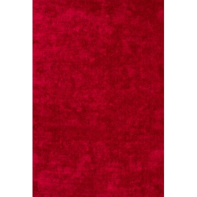 Lalee Cyprus Nikosia Hand-Woven Red Area Rug