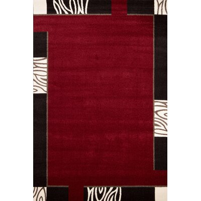 Lalee Switzerland Bern Red Area Rug