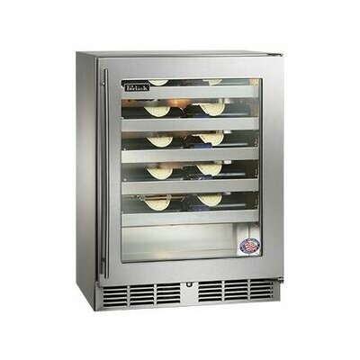 20 Bottle Signature Series Single Zone Built-In Wine Cooler Hinge Location: Left