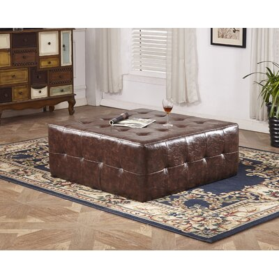 Classic Upholstered Bench Upholstery Color: Brown