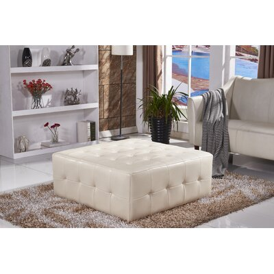 Classic Upholstered Bench Upholstery Color: White