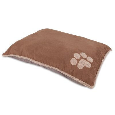 """Shearling Knife Edge Dog Pillow Bed Size: Large (45"""" L x 36"""" W)"""