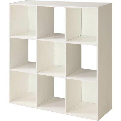 Cube Unit Bookcase Finish: White/Lavender
