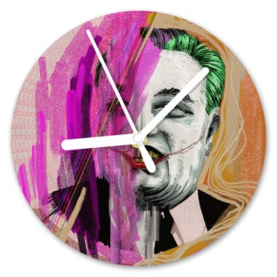 I-like-Paper Analoge Wanduhr Its a Joke 13 cm