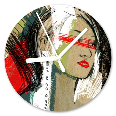 I-like-Paper Analoge Wanduhr This Moment 13 cm