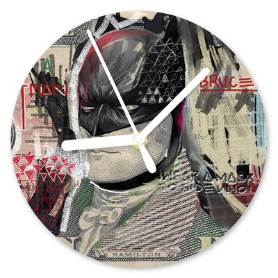 I-like-Paper Analoge Wanduhr The Dark Night 13 cm