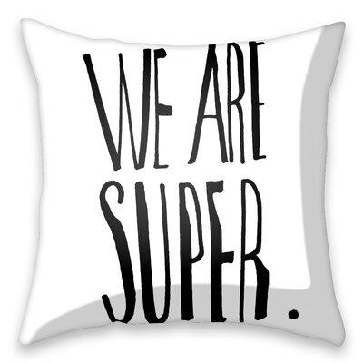 I-like-Paper Kissenbezug We are super