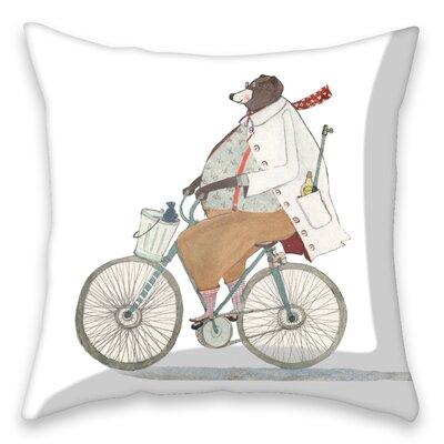 I-like-Paper Kissenbezug Bikerbär