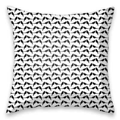 I-like-Paper Zierkissen Black Sparrow