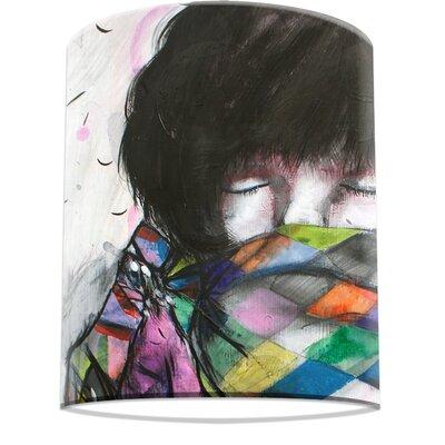 I-like-Paper 20 cm Lampenschirm Rainbow Warrior aus Tyvek