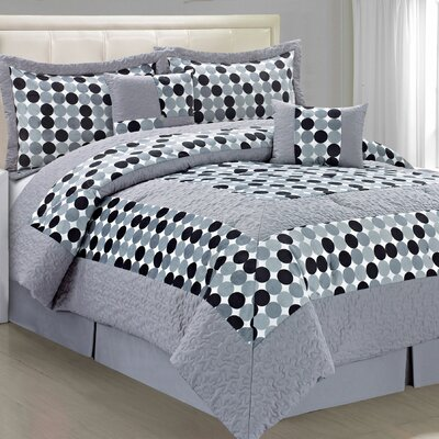 Big Dots 6 Piece Comforter Set