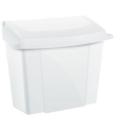 Sanitary Napkin Receptacle Finish: White