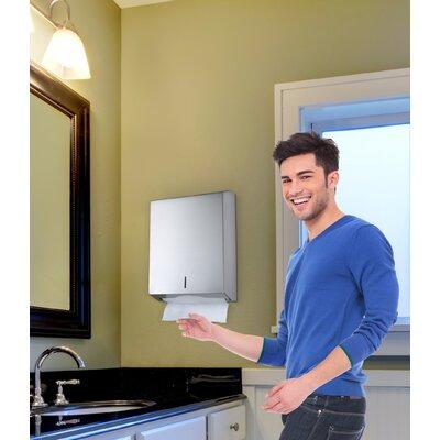 C-Fold/Multifold Paper Towel Dispenser