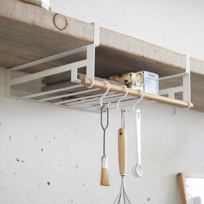 """Jamari Under Shelf Storage Rack Size: 4.53"""" H x 13.19"""" W x 11.42"""" D"""