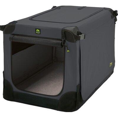 "Soft Kennel Size: 16.2"" H x 16.2"" W x 24"" L, Color: Black / Anthracite"